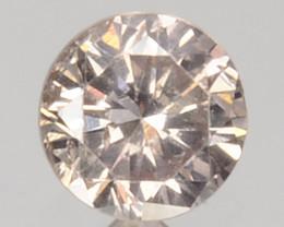 Ravishing!! 0.14 Cts Natural Untreated Diamond Fancy Yellow Round Cut Afric