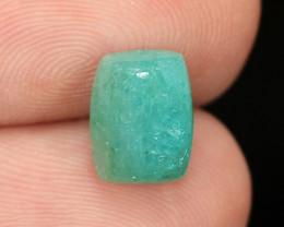 2.66 Cts Un Heated Copper Bearing Paraiba Green Color Natural Tourmaline Lo