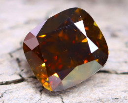 Champagne Diamond 0.61Ct Untreated Genuine Fancy Diamond AT0001