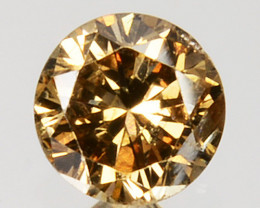 Significant!! 0.22 Cts Natural Untreated Diamond Fancy Yellow Round Cut Afr