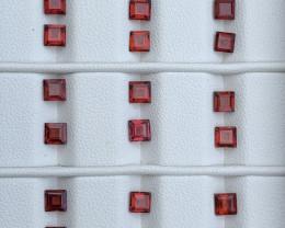 12.70 Carats Rhodolite Garnet  Gemstones Parcel