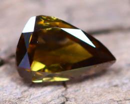 Champagne Diamond 0.19Ct Untreated Genuine Fancy Diamond AT0008