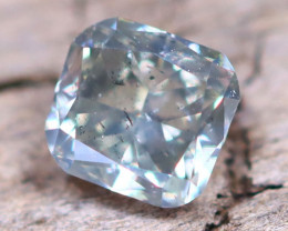 Bluish Grey Diamond 0.20Ct Untreated Genuine Fancy Diamond AT0011