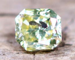 Yellowish Green Diamond 0.25Ct Untreated Genuine Fancy Diamond AT0013