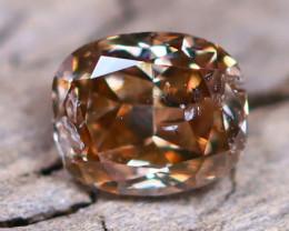 Champagne Diamond 0.13Ct Untreated Genuine Fancy Diamond AT0014