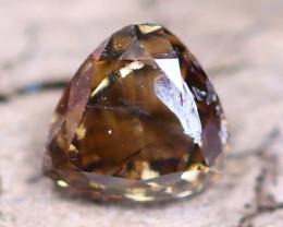 Champagne Diamond 0.34Ct Untreated Genuine Fancy Diamond AT0015