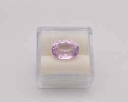 Kunzite Natural Gemstone, 5.27ct