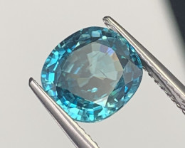 4.19 Cts High Quality Natural Blue Zircon Cambodia
