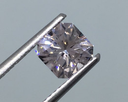 1.01 Carat VVS Goshenite - Diamond White Color Flash Master Cut!