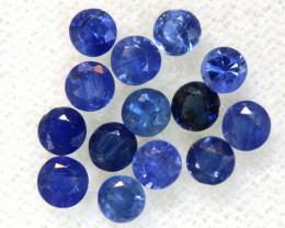 1.54 CTS BLUE SAPPHIRES FACETED PARCEL 14 PCS PG-3410