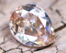 Champagne Pink Diamond 0.17Ct Untreated Genuine Fancy Diamond AT0028