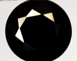 10.50 Cts Very Rare Jet Black Color Natural Spinel Gemstone