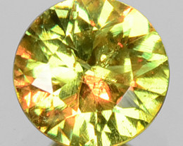 0.39 Cts Untreated Color Changing Natural Demantoid Garnet Gemstone