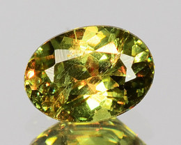 0.33 Cts Untreated Color Changing Natural Demantoid Garnet Gemstone