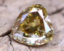 Champagne Diamond 0.19Ct Untreated Genuine Fancy Diamond AT0035