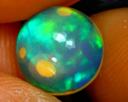 Welo Opal 1.58Ct Natural Ethiopian Play of Color Opal E3134/A28