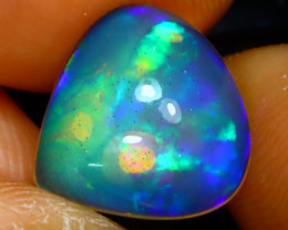 Welo Opal 2.65Ct Natural Ethiopian Play of Color Opal E3137/A28