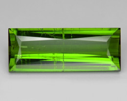 2.57  Cts Un Heated Green Color Natural Tourmaline Loose Gemstone
