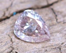 Pink Purple Diamond 0.11Ct Natural Untreated Pink Purple Diamond B2810