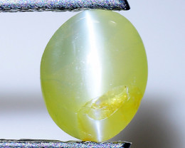 0.81 Cts Cats Eye Chrysoberl Rare Quality Gemstone Ct4
