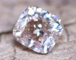 Champagne Pink Diamond 0.33Ct Untreated Genuine Fancy Diamond AT0044
