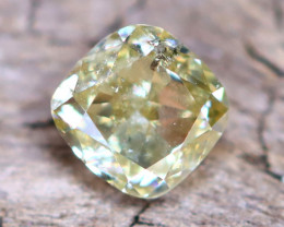 Yellow Diamond 0.32Ct Untreated Genuine Fancy Diamond AT0055