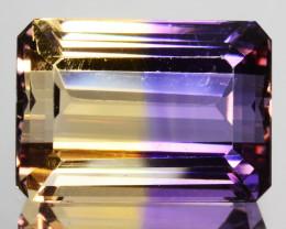 Significant!! 6.60Cts Unique Ultra Quality Natural Ametrine Emerald Cut Gem