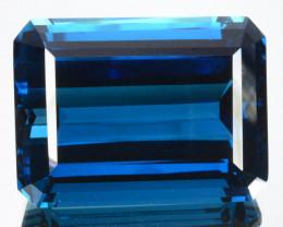 RAVISHING!! 113.53 Cts Natural London Blue Topaz Octagon Collection Gem