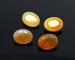 3CT FIRE OPAL PARCEL BEST QUALITY GEMSTONE IIGC46