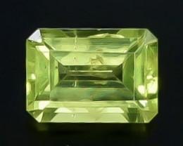 1.01 Crt  Peridot Faceted Gemstone (Rk-55)