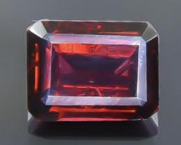 2.34 Crt  Rhodolite Garnet Faceted Gemstone (Rk-55)
