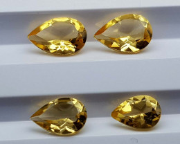3Crt Madeira Citrine Lot Natural Gemstones JI35