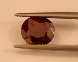 **No Reserve** 4.3ct Oval-Cut Ruby