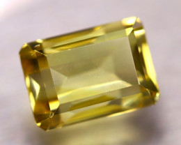 Lemon Quartz 9.87Ct Natural VVS Lemon Quartz E0222/C1