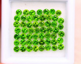 3.99ct Natural Chrome Diopside Round Cut E38
