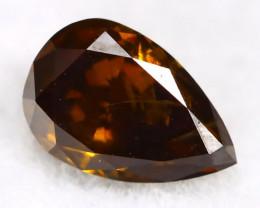 Champagne Diamond 0.26Ct Untreated Genuine Fancy Diamond AT0088