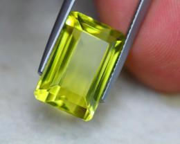 9.83ct Natural Lemon Quartz Octagon Cut E05