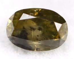 Green Diamond 0.15Ct Untreated Genuine Fancy Diamond AT0111