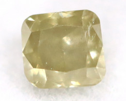 Yellow Diamond 0.13Ct Untreated Genuine Fancy Diamond AT0114