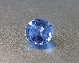 1.49ct unheated blue sapphire