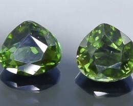 1.46 Crt Natural Tourmaline Faceted Gemstone.( AB 82)