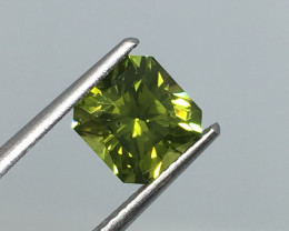 1.91 Carat VS Peridot Master Cut Stunning Flash and Quality !