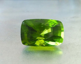 29.5ct rich green peridot