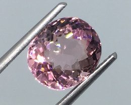⭐️SALE ! 2.77 Carat VVS CERT. Tourmaline Unheated Pink Precision Cut !