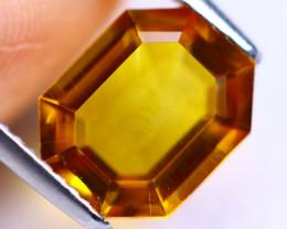 2.55cts Natural Yellow Orangish Colour Citrine / MA225