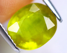 3.21cts Yellow Colour Sapphire / MA234