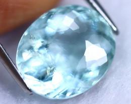 10.56cts Natural Vivid Blue Colour Aquamarine / MA238