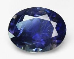 1.23 Cts Amazing Rare Blue Color Natural Iolite Gemstone