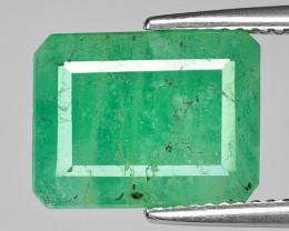 6.89 Cts Natural Vivid Green Emerald Loose Gemstone