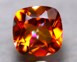 Topaz 5.53Ct Natural IF Vivid Orange Topaz D0301/A46